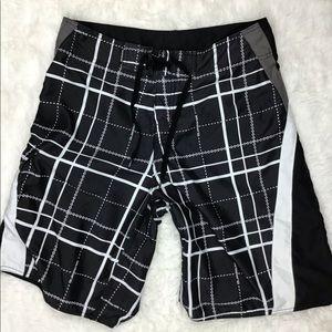 Quiksilver Board Shorts Mens Size 32 Long (z1)^